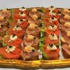 Canapes mit Fisch